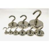 钕铁硼磁性挂钩D12-D75 强力挂钩 强磁挂钩 磁石挂钩 磁铁挂钩