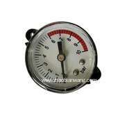 安全型压力表高精度耐用螺纹联接压力表不锈钢压力仪表