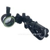 现货射箭用品运动装备 复合弓单针瞄准器全铝金属瞄 瞄具