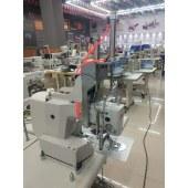 厂家直销缝纫机厚料暗缝抱枕圆孔座垫机压脚最高可台十五公分