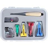 DIY家用拼布手工拉筒套装工具多功能制带器包边卷边组合厂家直销