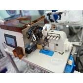 全自动包缝机接带机