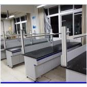 钢木实验台 全钢医用工作台 操作台 学校化学实验室理化板实验台