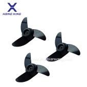宏兴电动马达挂桨机配件3叶片螺旋桨 推进器风叶片2叶片厂家批发