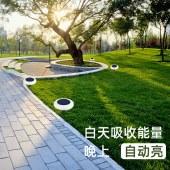 户外太阳能庭院插地景观灯花园家用光感应防水草坪灯七彩节日装饰