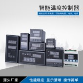 产地货源智能带通讯多段时间温度控制器 RS485窖炉程序段温控器