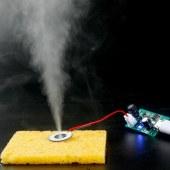 USB加湿器雾化片电路驱动PCB线路板电子配件5V喷雾孵化实验器材