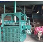 绳一体机废纸打包机 中国专利厂家供货 秸秆棉花液压打块机