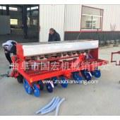 拖拉机带多功能小麦播种机12行腿式免耕旱稻播种机大豆圆盘播种机
