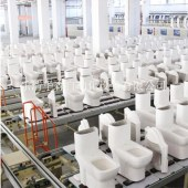 智能马桶组装线座便器组装流水线 座便器生产流水线 座便器流水线