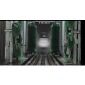 高铁全自动洗车机、定制类清洗设备、车猫洗车机、毛刷机、