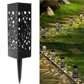 镂空太阳能草坪灯 镂空网罩草坪灯 太阳能树状镂空灯