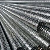 厂家直销供应预应力金属波纹管线路保护软管金属波纹管批发