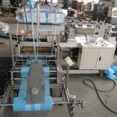 全自动鞋套机 无纺布折叠鞋套一体机 鞋套生产线设备厂家
