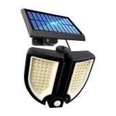 新款太阳能智能感应庭院灯分体式太阳能壁灯车库照明人体感应灯