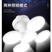跨境太阳能充电灯泡夜市灯地摊灯折叠 足球灯 LED停电应急球泡灯